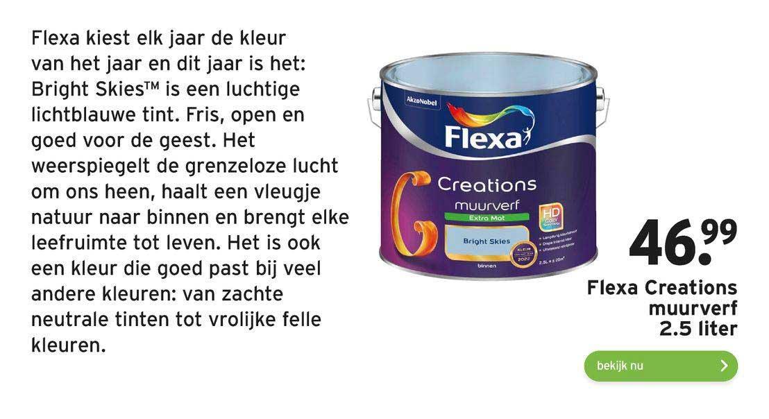 Gamma Flexa Creations Muurverf 2.5 Liter