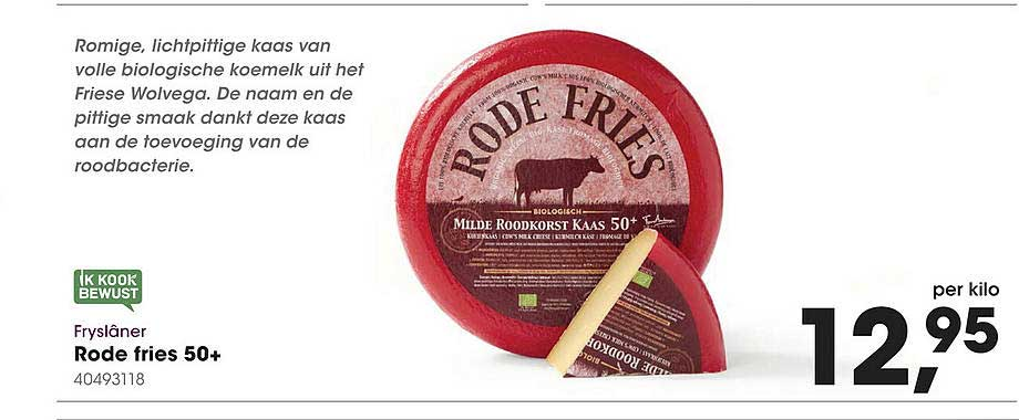 HANOS Fryslâner Rode Fries 50+