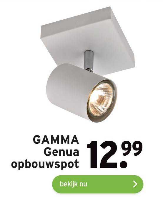 Gamma Gamma Genua Opbouwspot