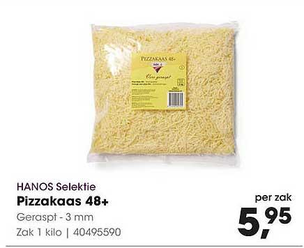 HANOS Hanos Selektie Pizzakaas 48+