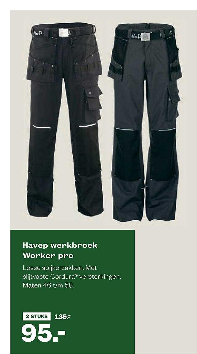 Welkoop Havep Werkbroek Worker Pro