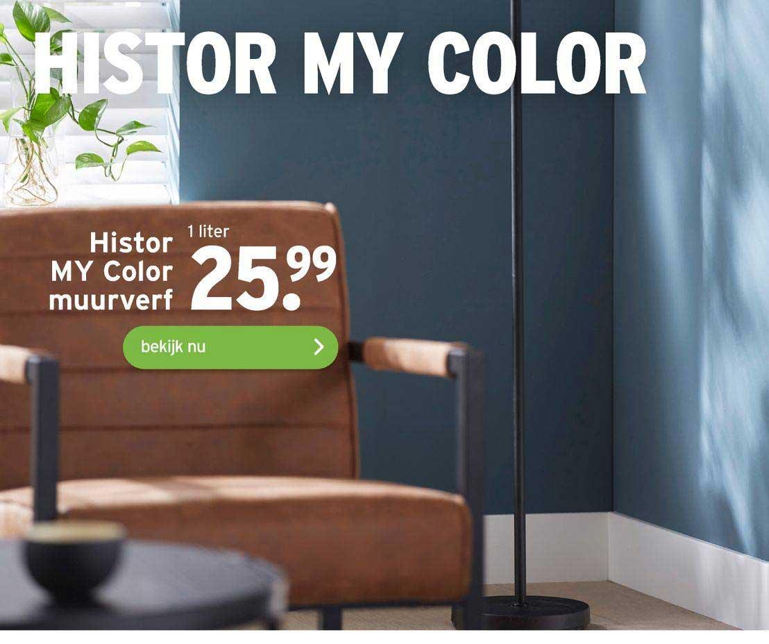 Gamma Histor My Color Muurverf