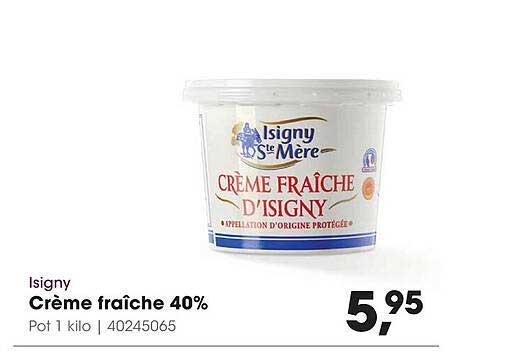 HANOS Isigny Crème Fraîche 40%