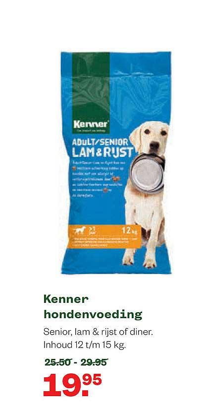 Welkoop Kenner Hondenvoeding