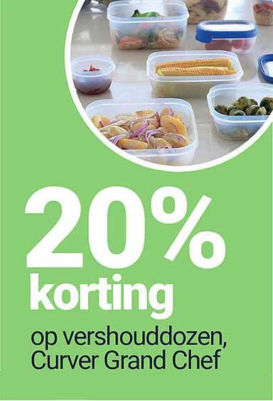 Inter Chalet Op Vershouddozen,Curver Grand Chef 20% Korting