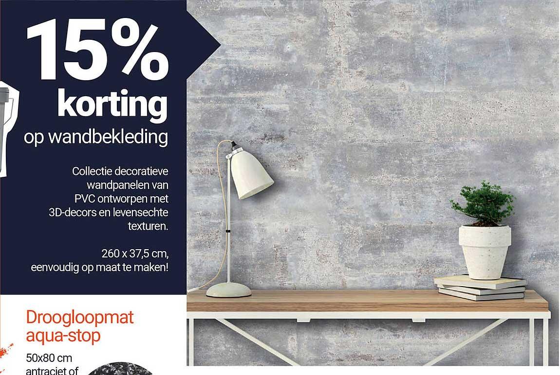 Inter Chalet Op Wandbekleding 15% Korting