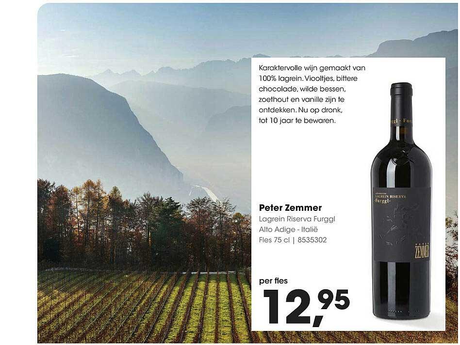 HANOS Peter Zemmer Lagrein Riserva Furggl Alto Adige