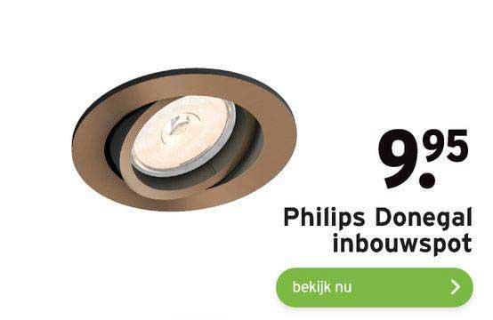 Gamma Philips Donegal Inbouwspot
