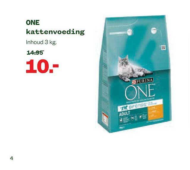 Welkoop Purina One Kattenvoeding