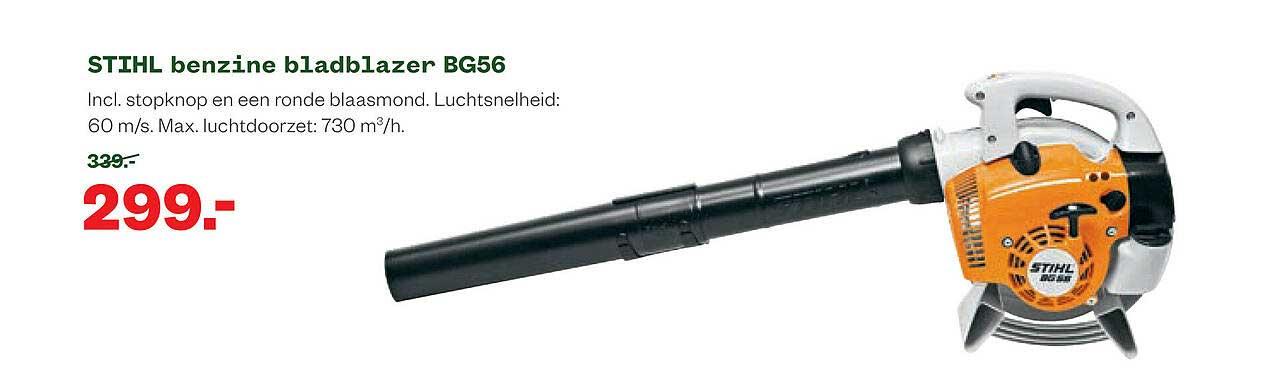 Welkoop Stihl Benzine Bladblazer BG56