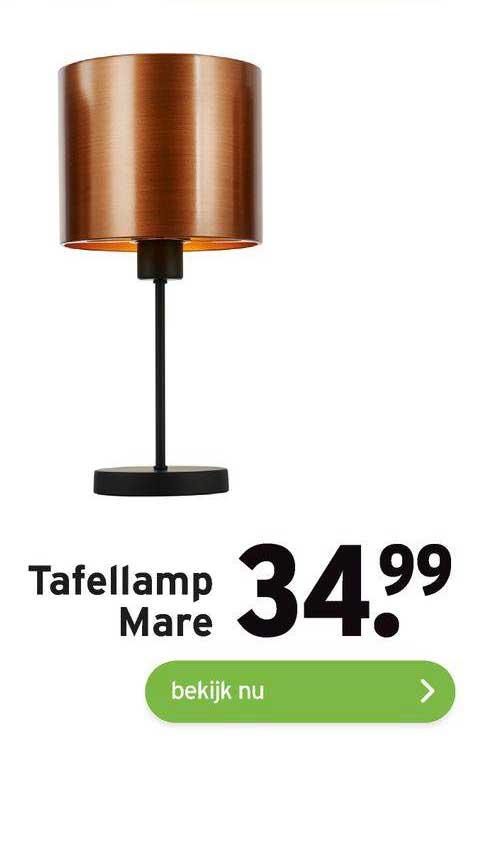 Gamma Tafellamp Mare