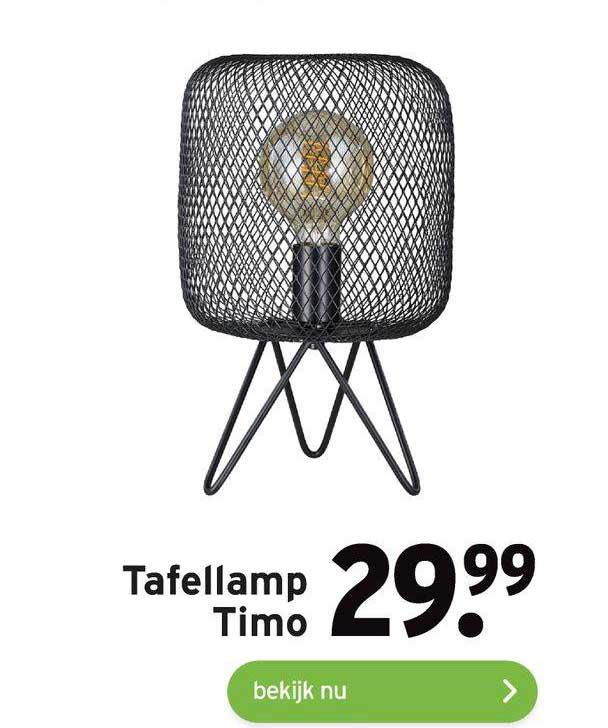Gamma Tafellamp Timo