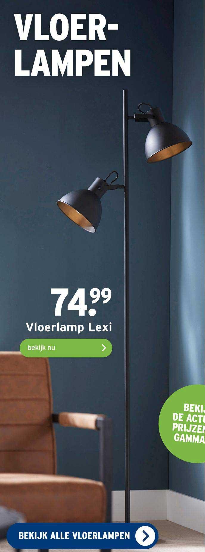 Gamma Vloerlamp Lexi
