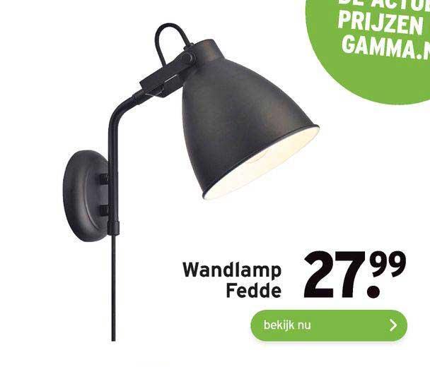 Gamma Wandlamp Fedde