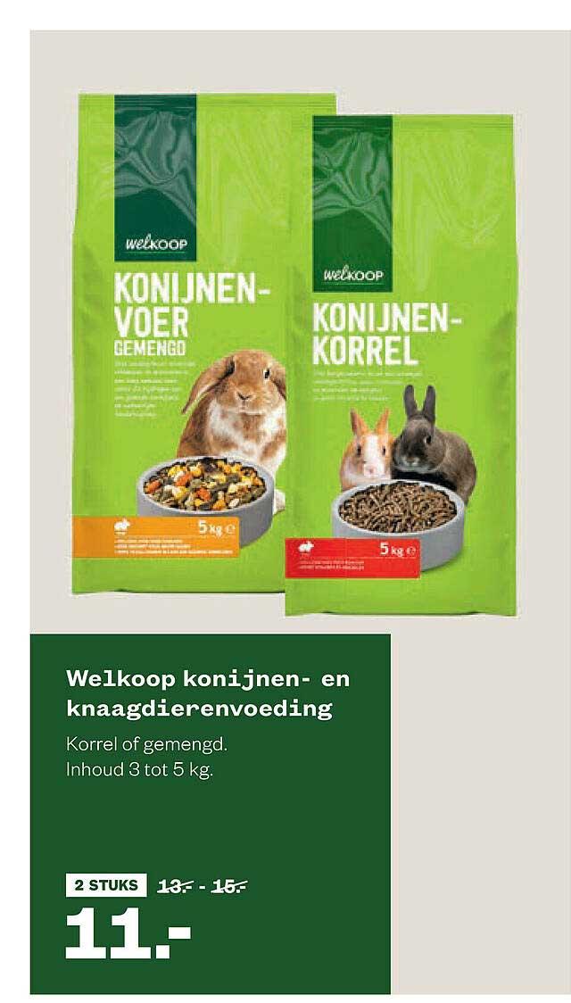 Welkoop Welkoop Konijnen- En Knaagdierenvoeding
