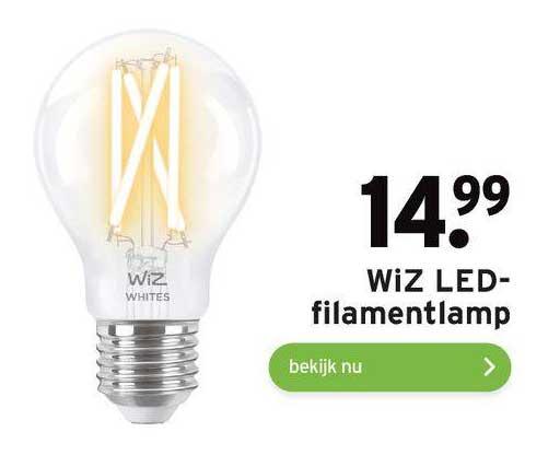 Gamma WiZ LED Filemantlamp
