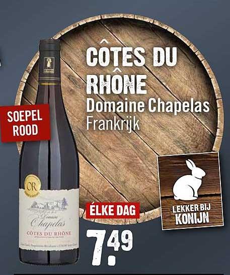 Dirck III Côtes Du Rhône Domaine Chapelas