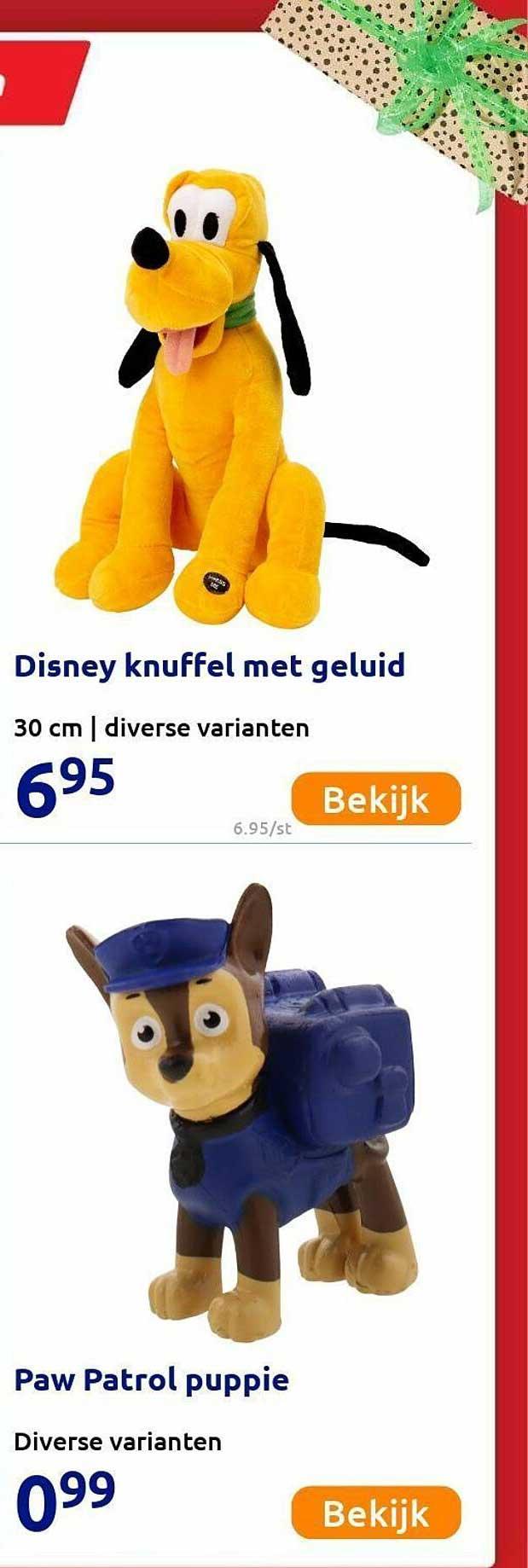 Action Disney Knuffel Met Geluid Of Paw Patrol Puppie