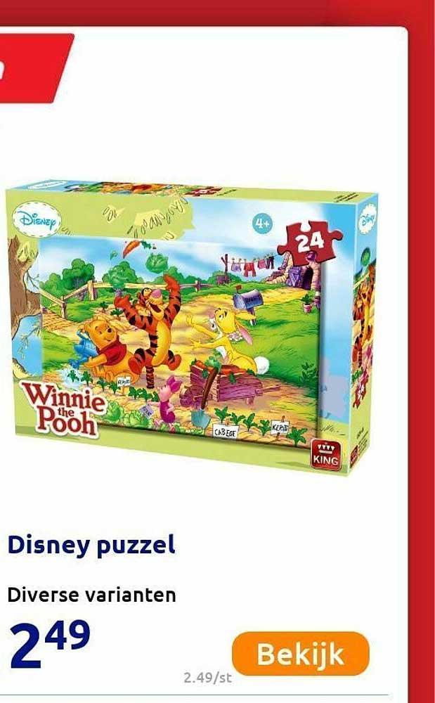 Action Disney Puzzel