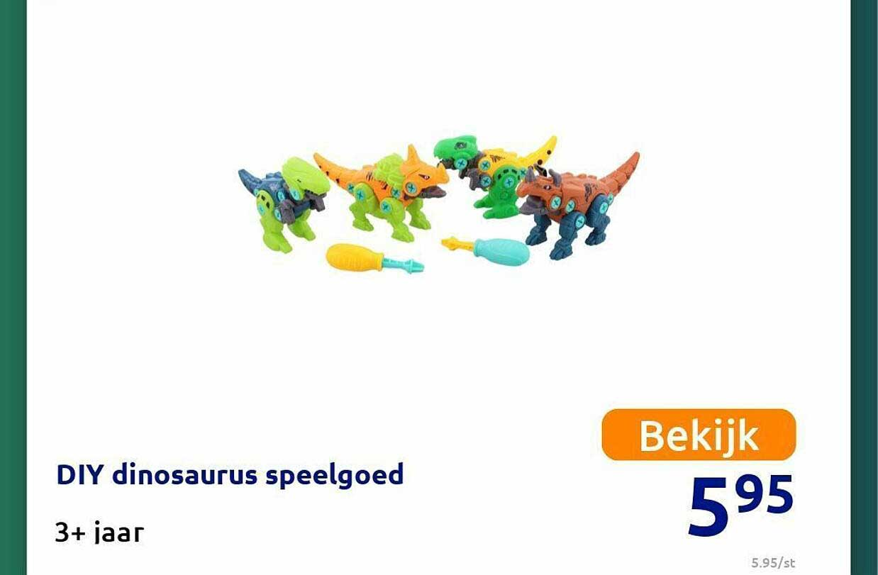 Action Diy Dinosaurus Speelgoed