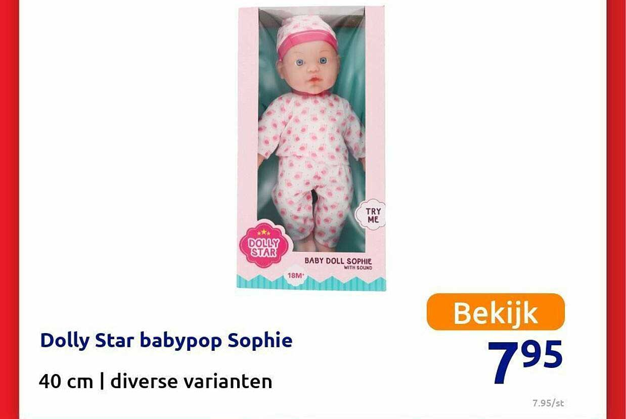 Action Dolly Star Babypop Sophie