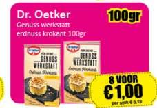 Datum Voordeelshop Dr. Oetker Genuss Werkstatt Erdnuss Krokant 100Gr