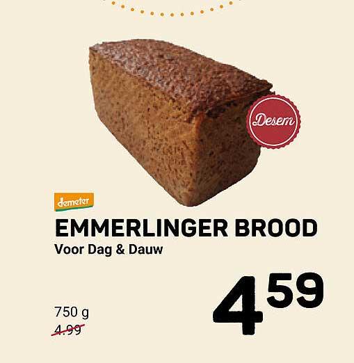 Ekoplaza Emmerlinger Brood Voor Dag & Dauw