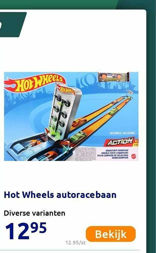 Action Hot Wheels Autoracebaan