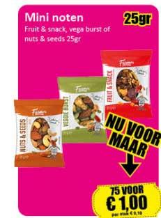 Datum Voordeelshop Mini Noten Fruit & Snack, Vega Burst Or Nuts & Seeds