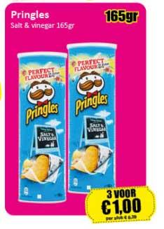 Datum Voordeelshop Pringles Salt & Vinegar 165gr
