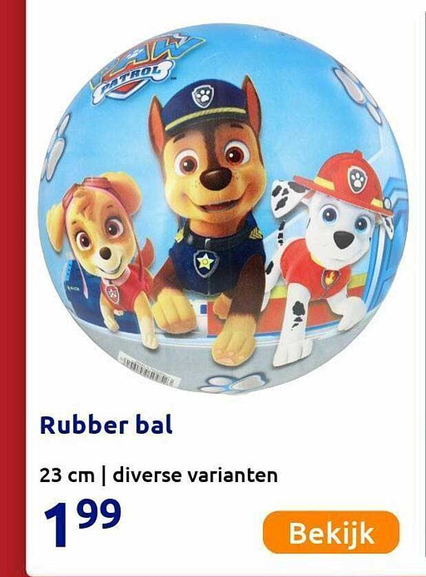Action Rubber Bal