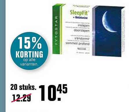 De Online Drogist SleepFit 15% Korting