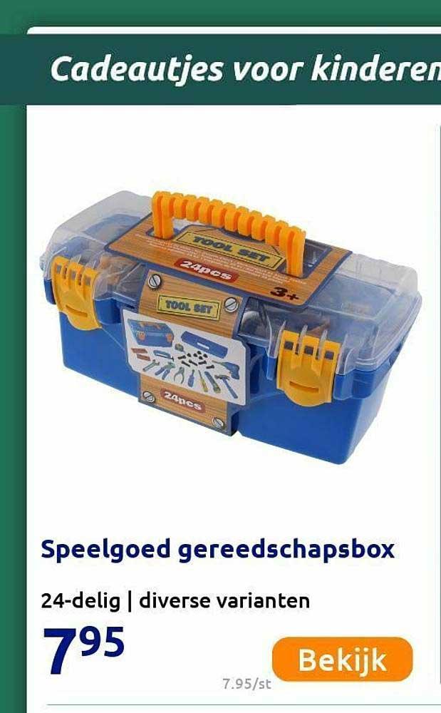 Action Speelgoed Gereedschapsbox