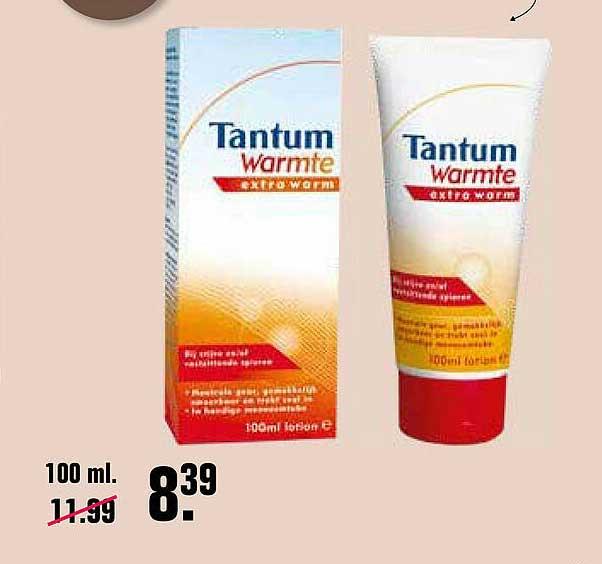 De Online Drogist Tantum Warmte Extra Warm