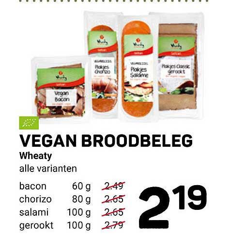 Ekoplaza Vegan Broodbeleg Wheaty