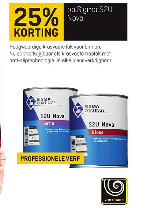 Multimate 25% Korting Op Sigma S2U Nova