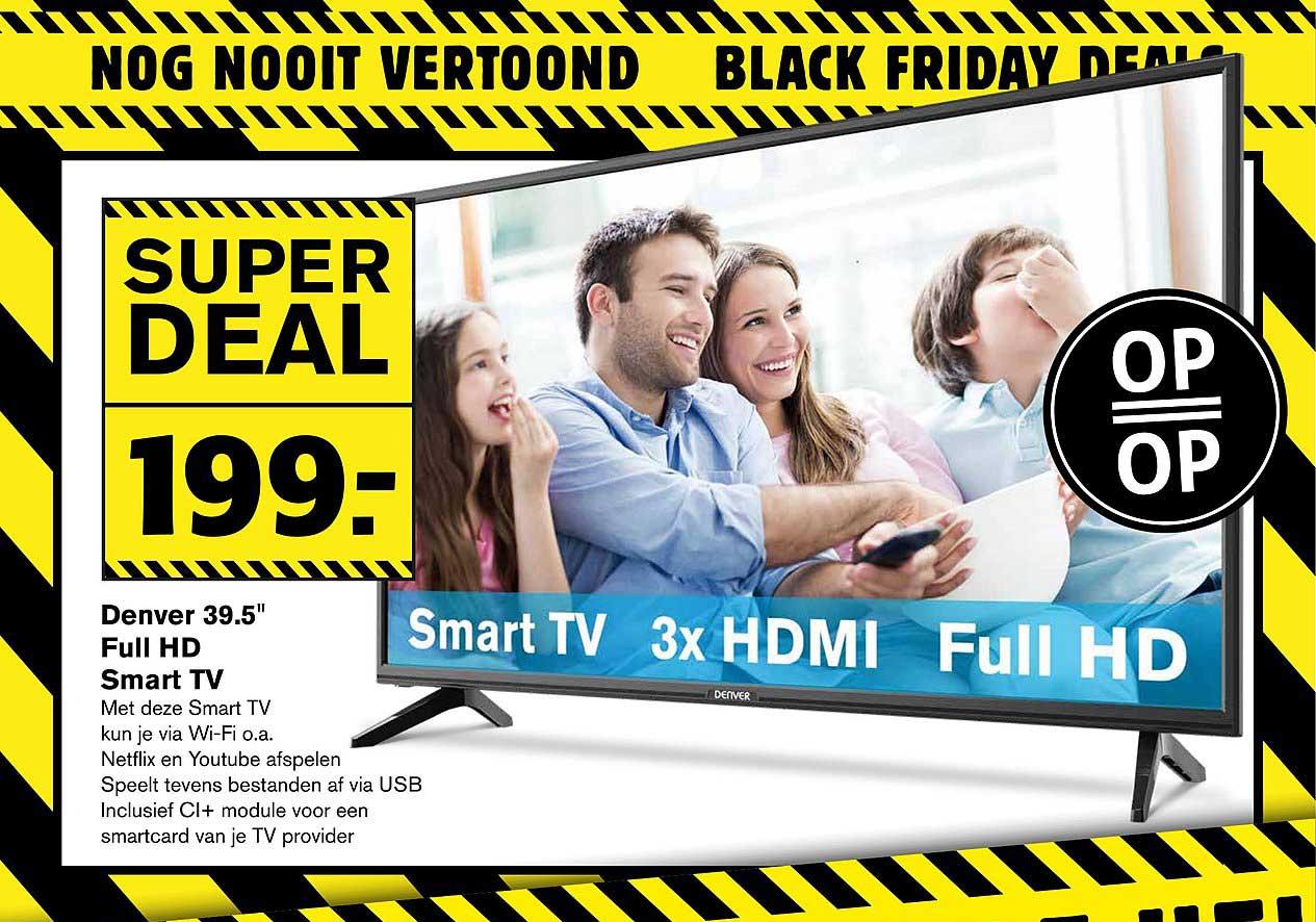 Hoogvliet Denver 39.5 Inch Full Hd Smart Tv