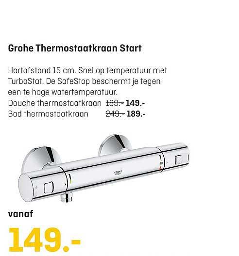 Multimate Grohe Thermostaatkraan Start