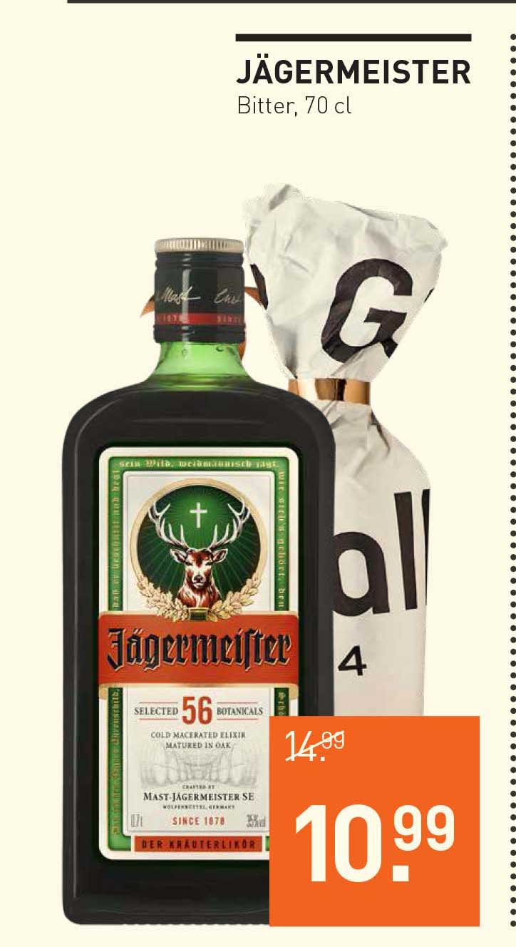Gall & Gall Jagermeister