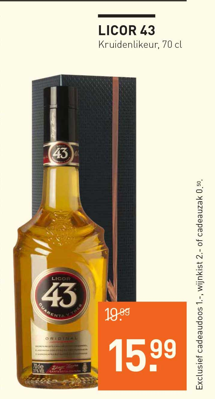 Gall & Gall Licor 43