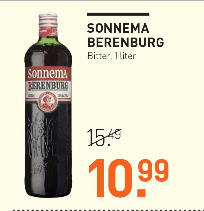 Gall & Gall Sonnema Berenburg