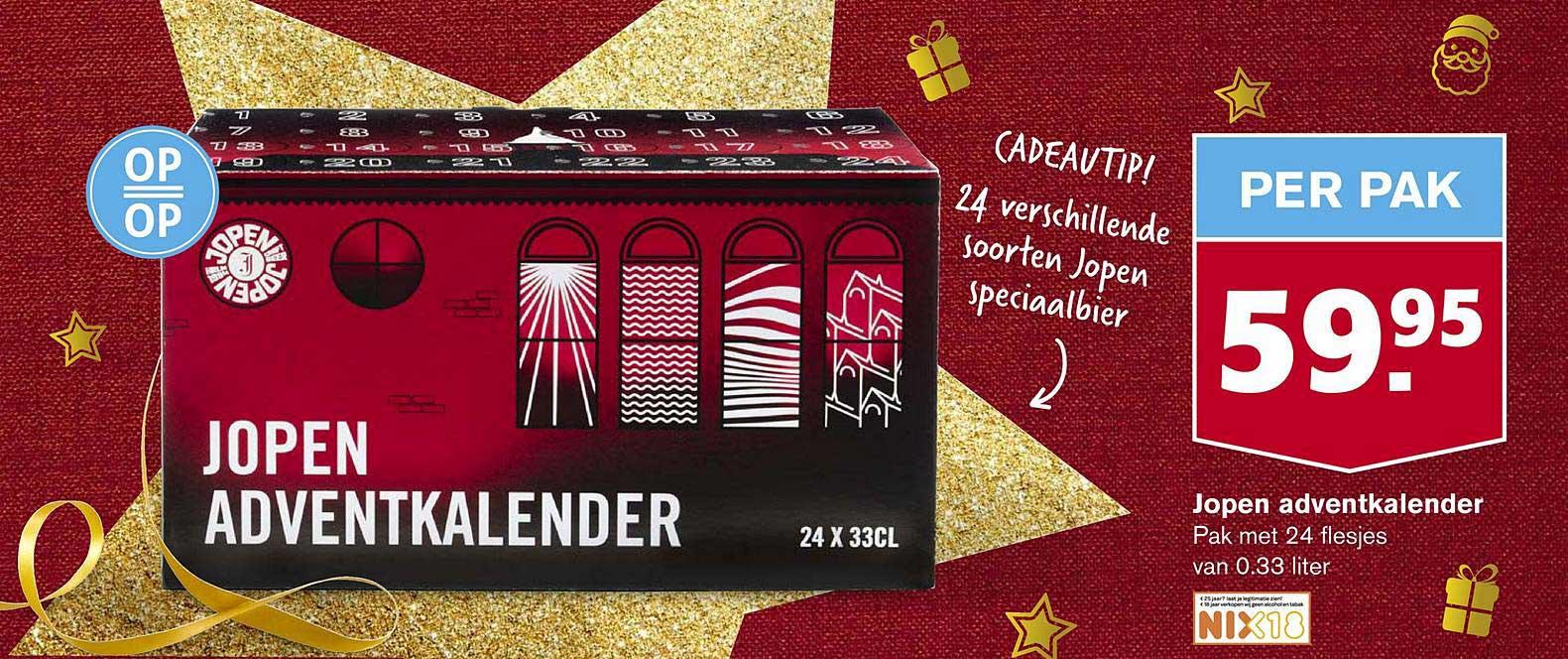 Hoogvliet Jopen Adventkalender
