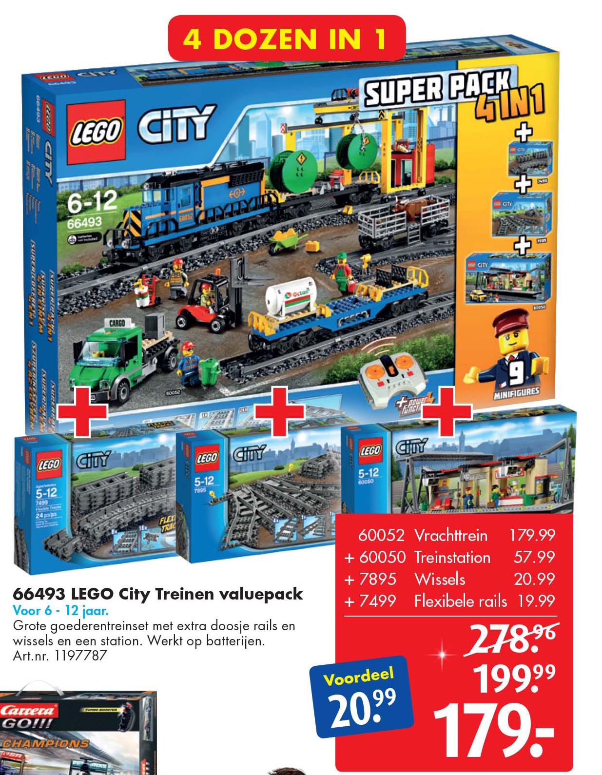 Bart Smit 66493 LEGO City Treinen Valuepack