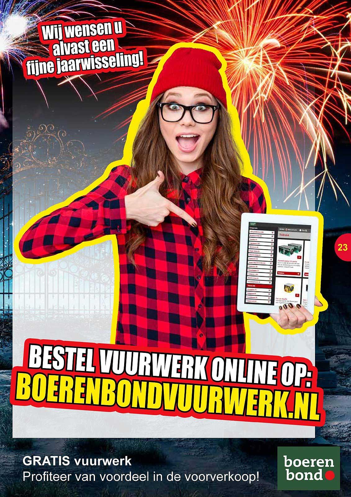 Boerenbond Bestel Vuurwerk Online Op: Boerenbondvuurwerk.nl