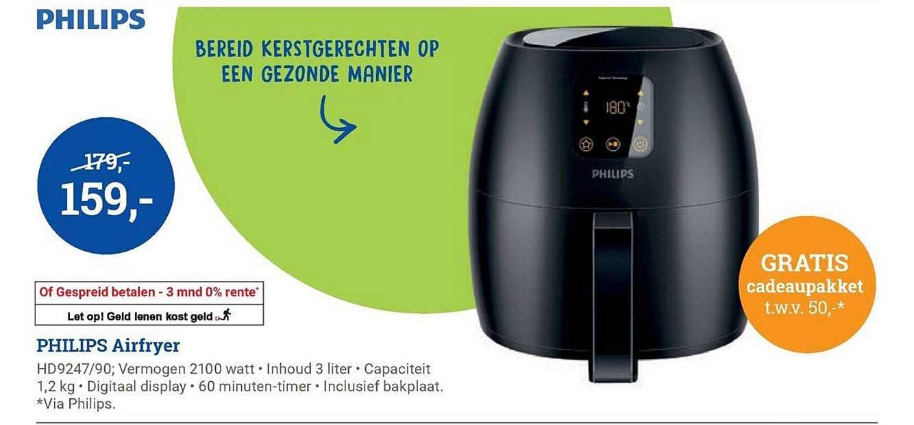 BCC Philips Airfryer + GRATIS Cadeaupakket T.w.v. 50,-