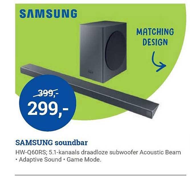 BCC Samsung Soundbar