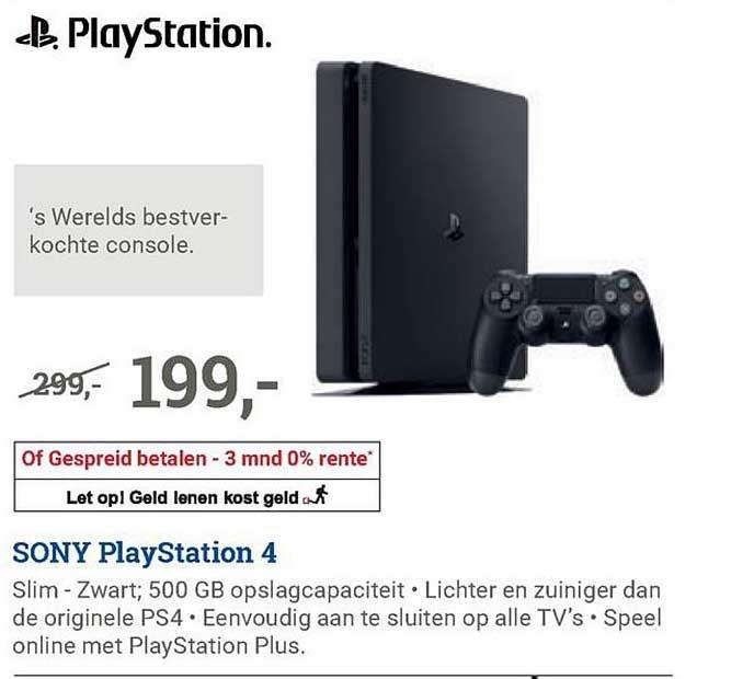 BCC Sony Playstation 4