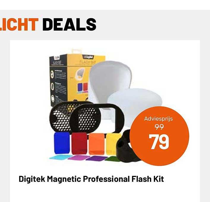 Kamera Express Digitek Magnetic Professional Flash Kit