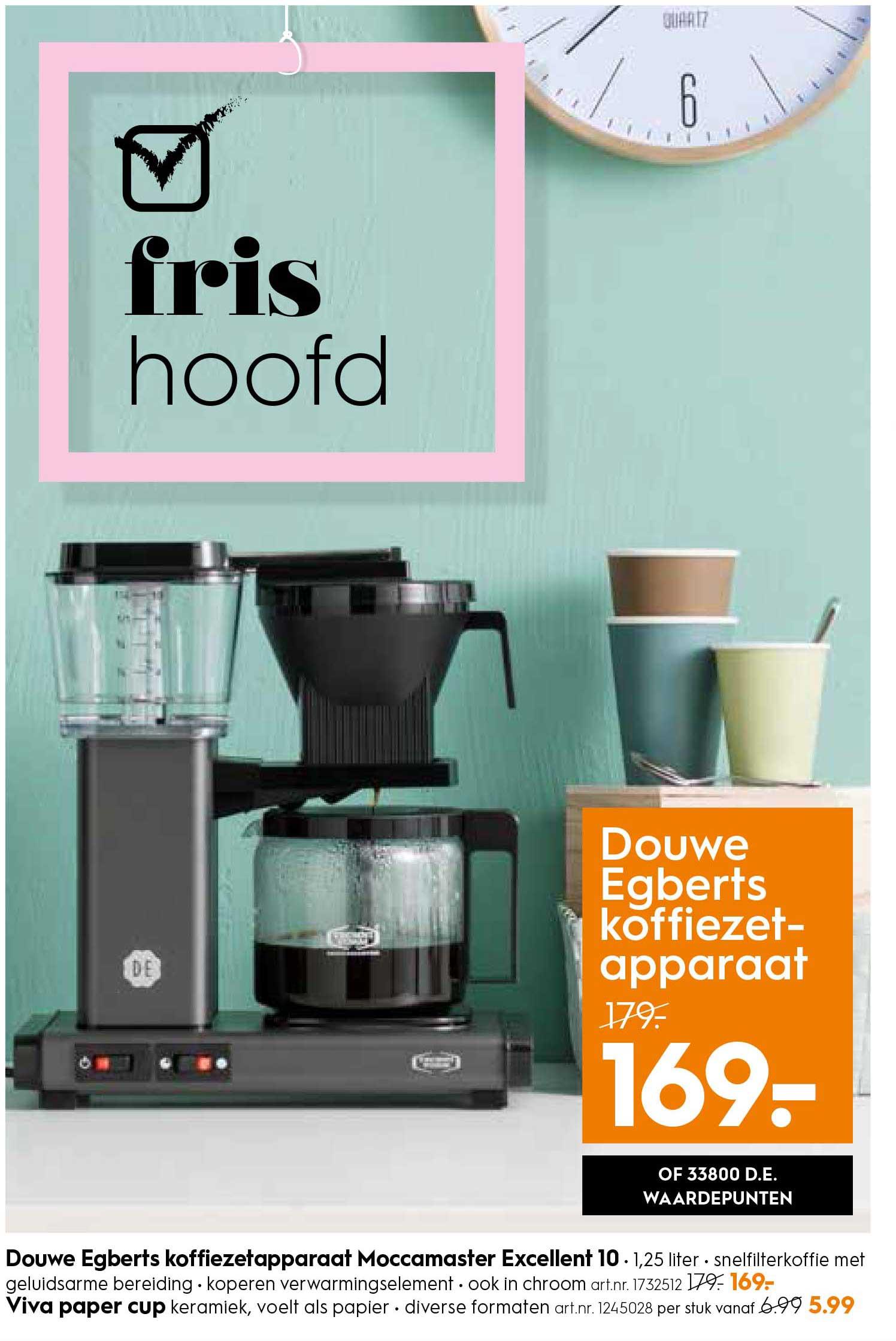 Blokker Douwe Egberts Koffiezetapparaat