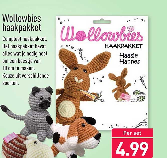 ALDI Wollowbies Haakpakket
